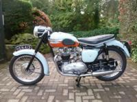 TRIUMPH BONNEVILLE T120 650 TANGERINE DREAM DROP