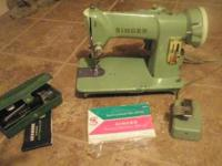 Hard to find !!!! Vintage 1958 Singer 185K Sewing