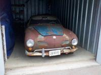 1958 Karmann Ghia for sale. The car is located in