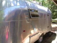 1958 Airstream Flying Cloud Travel Trailer This