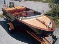 1958 Custom Classic Runabout Please get in touch with