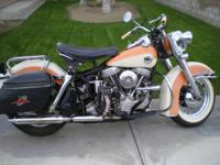 1958 Harley Davidson Panhead FLH one of the best