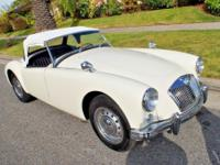 1958 MG MGA Beautiful Convertible.  Great fun car,