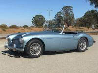 1959 Austin Healey 100-6 Drive Perfectly.  This Austin