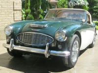 1959 Austin Healey 3000 100 6 cylinder. The engine