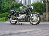 1959 BMW R50 w Earles Fork Suspension in terrific