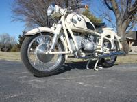 This motorcycle was restored.Every component has