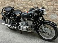 1959 BMW R50 w Earles Fork Suspension in great running