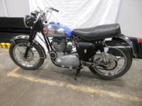 I purchased this 1959 BSA Goldstar 500 from the second