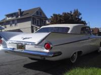 1959 Buick LeSabre Convertible ..White Paint ..White
