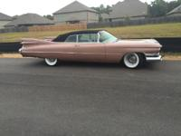 1959 Cadillac 62 Convertible ..Frame Off Restoration