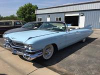 1959 Cadillac 62 Convertible ..Frame Off Restoration in