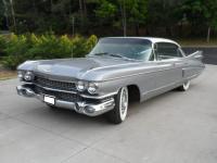 1959 Cadillac Fleetwood V8. The car runs, shifts, and