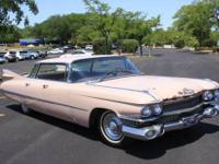 1959 Cadillac Sedan DeVille 4DR HT ..V8 Engine