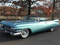 This 1959 Cadillac Series 62 Convertible is a rare low