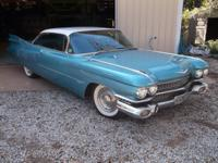 Stunning 1959 62 series coupe with factory AC ( needs a