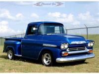This is a very nice 1959 Apache that was frame off