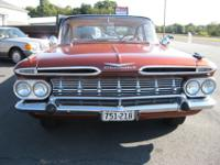 Hi '59 Chevy fans and thanks for clicking my Bel