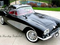 1959 Chevrolet Corvette w/Hardtop Restored Numbers