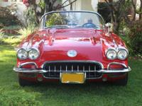 Selling an absolutely beautiful 1959 Convertible