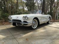 1959 Chevrolet Corvette   The features include: OEM or