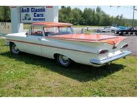 1959 EL Camino car is originally from Alabama. just