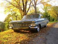 -This matching numbers 1959 Chevrolet Impala 2 Dr Ht,