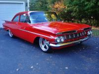 Beautiful 1959 Chevy Biscayne post coupe Restomod! The