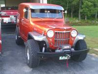 1959 WILLYS JEEP PANEL TRUCK 5.7L 4 BOLT SMALL BLOCK
