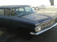 1959 Chevrolet Brook wood Station wagon , Rare to find