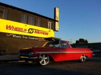 1959 Chevy El Camino 283 motor powerglide trans lowered