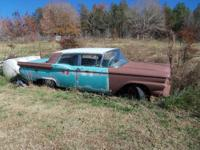 1959 Chevy Panel Truck, No motor, X military Vehicle,