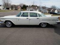 1959 Chrysler Windsor 4DR Sedan ..Un-Restored Survivor