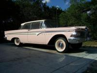 I HAVE FOR SALE A SOLID 1959 EDSEL 2 DOOR HARDTOP