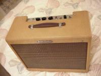 1959 Fender Deluxe 5e3 1959 Jensen P12Q ribbed cone /