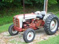 1959 Ford 801 Tractor 45 HP Gas Engine Select-O-Speed