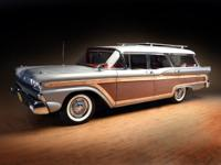 -Completely Original.  -1959 Ford Country Squire 9 Pass