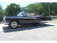 This is one of those rare 59 Fairlane 500 retractable,