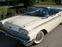 HERE WE HAVE A 1959 FORD FAIRLANE 500 GALAXIE EDITION