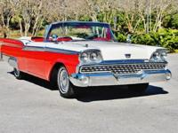 1959 Ford Galaxie Sunliner Convertible. Replaced and