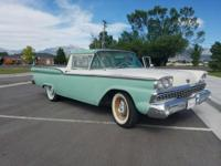 1959 Ford Ranchero. Original 292 engine, refurbished