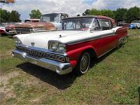 1959 ford fairlane 500 skyliner retractable hard top for sale in greenville south carolina. Black Bedroom Furniture Sets. Home Design Ideas
