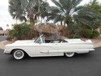 Absolutely gorgeous 1959 Ford Thunderbird Convertible,