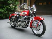 959 Harley Davidson, model XLH, Sportster in