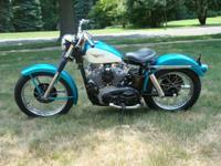 Very rare 1959 Harley-Davidson XLCH Sportster. First