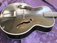 1959 Harmony Montclair H956W Acoustic Archtop.  This is