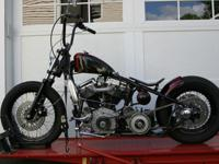1959 Panhead. Motor and transmission are original 1959,