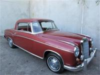 1959 Mercedes-Benz 220S Ponton Coupe 1959 Mercedes-Benz