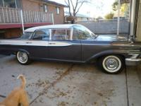 1959 Mercury Monterey 4DR Sedan ..All Original ..30,700
