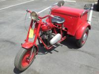 Up for sale is this very rare Mustang Motorcycle ,